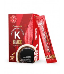 K-RED GINSENG COFFEE BLACK